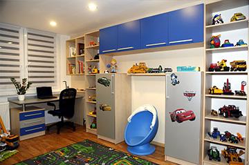 Fotogalerie - dětské pokoje